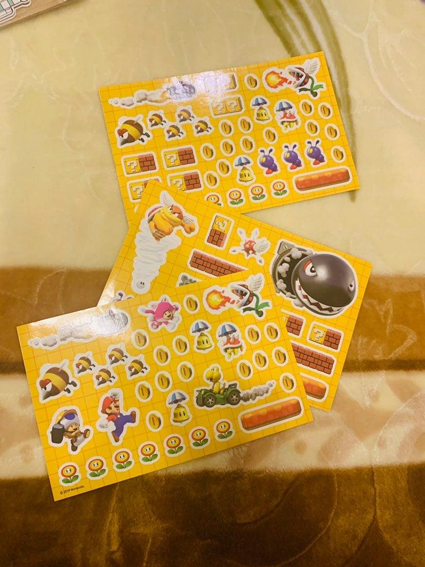 Super Mario Nintendo Stickers