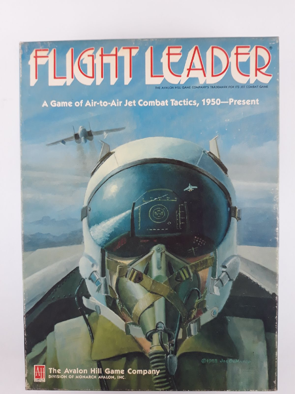 Flight Leader By Avalon Hill Game Of Jet