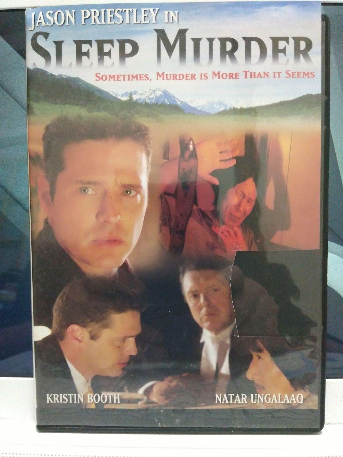 DVD Sleep Murder by Jason Priestley