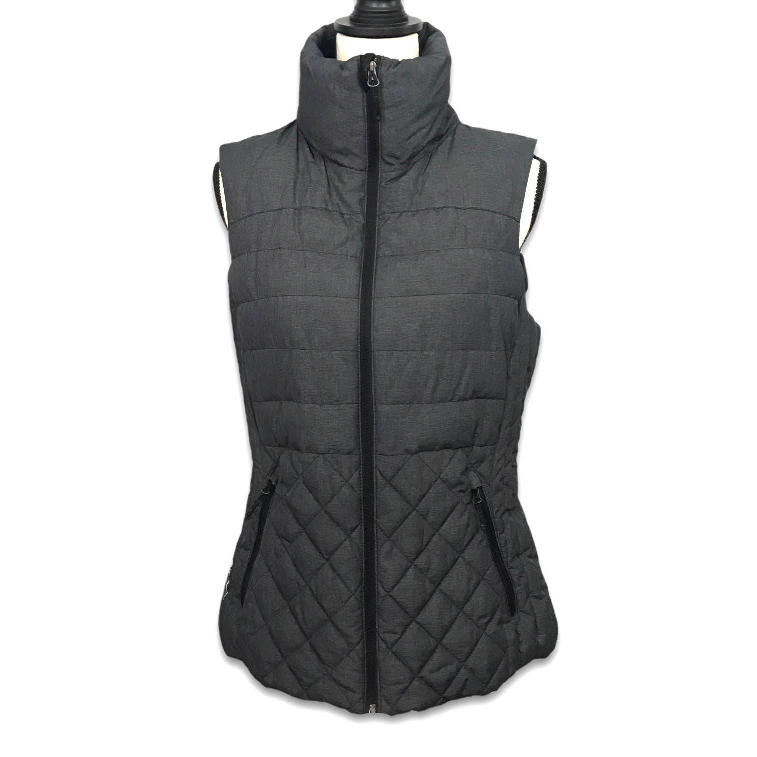 Champion VentureLoft+ gray puffer vest