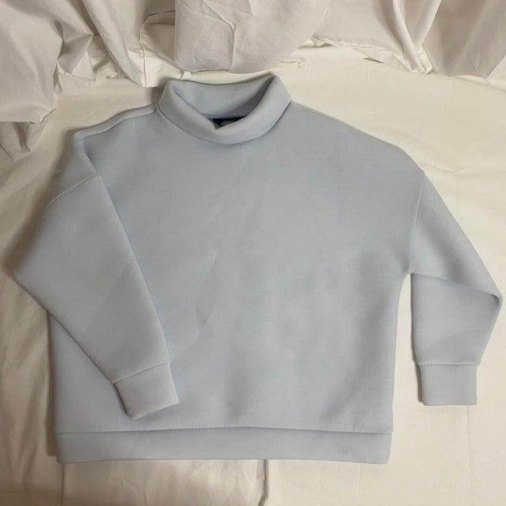 Pastel Blue Oversized Sweater