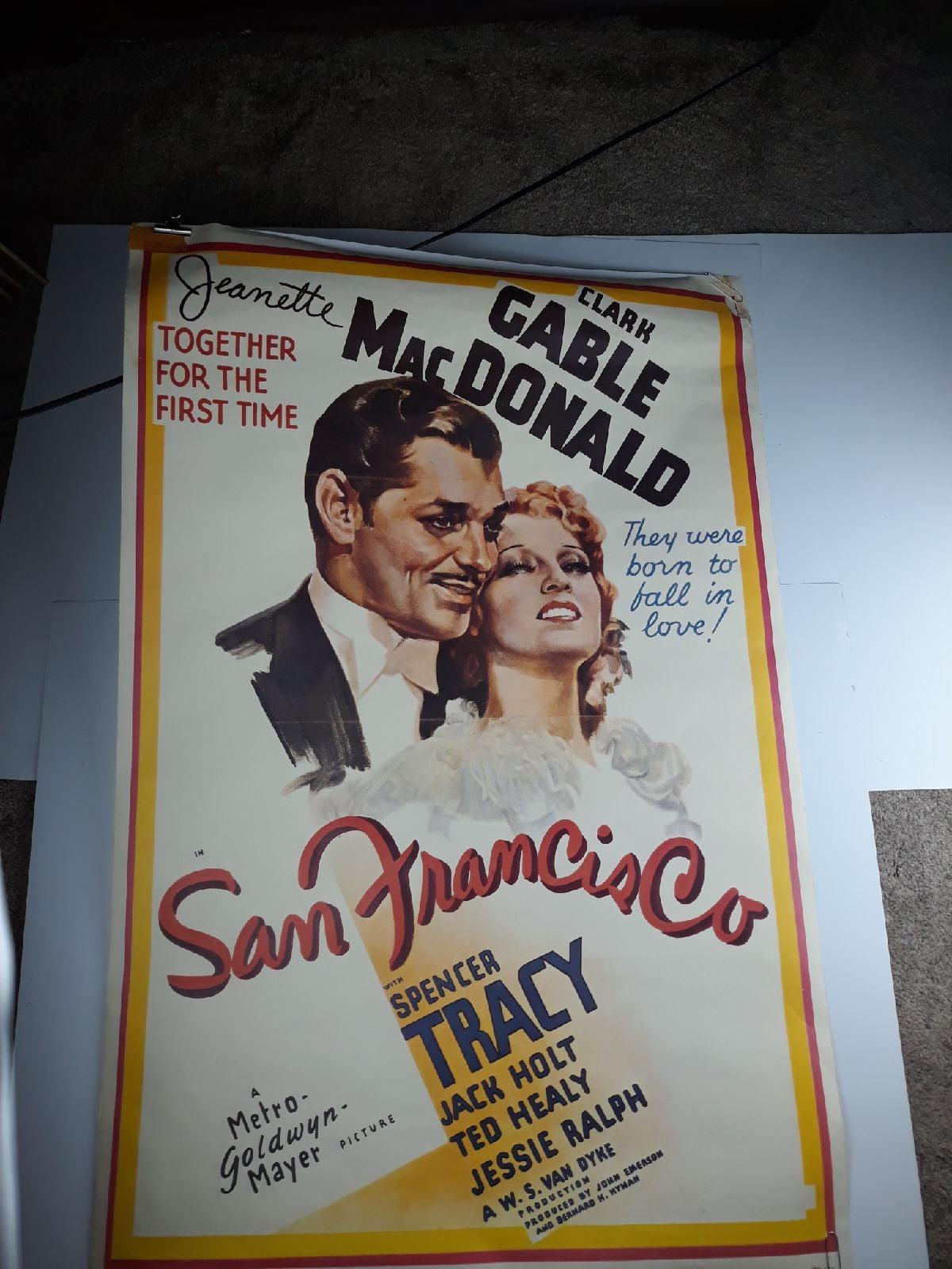 San Francisco: 1936 Clark Gable Jeanette