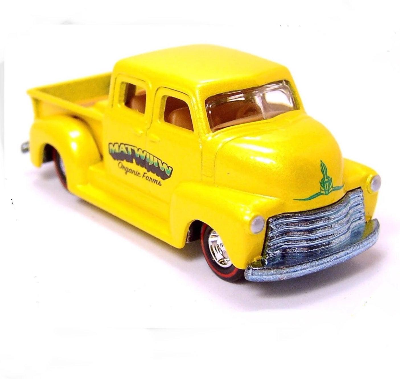 50 Chevy Cab over Engine Truck COE Yello