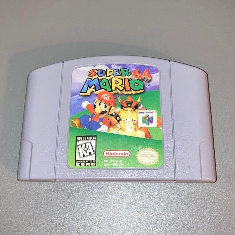 Super Mario 64 for Nintendo 64 (N64)