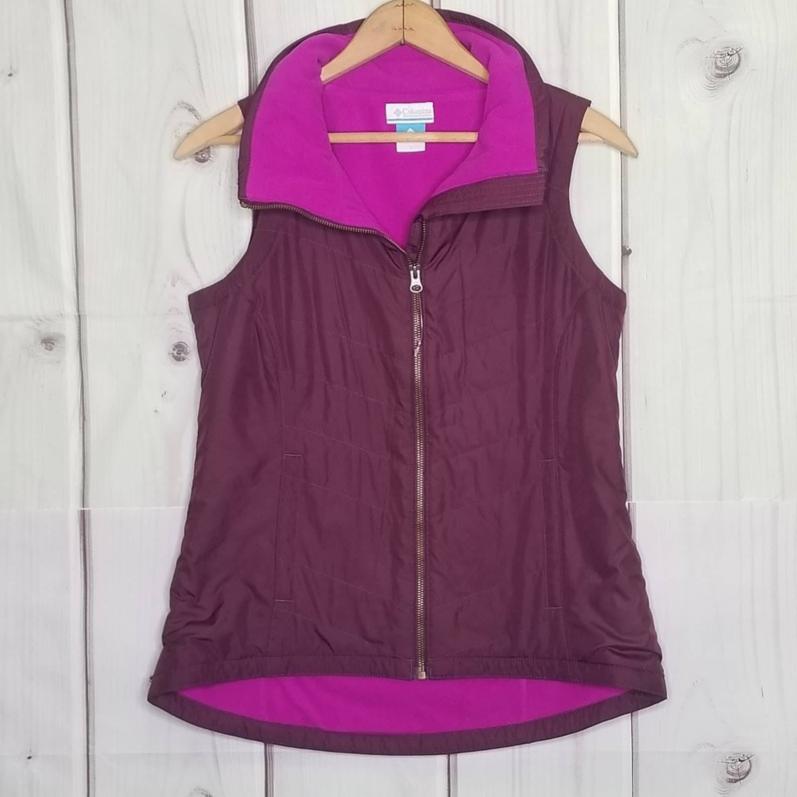 Columbia Berry Fleece Lined Vest SMALL