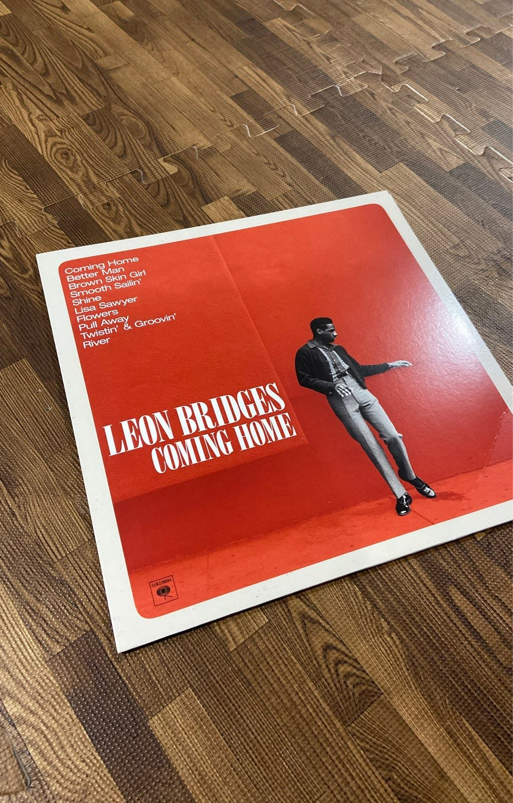 Leon Brodges Coming Home Vinyl
