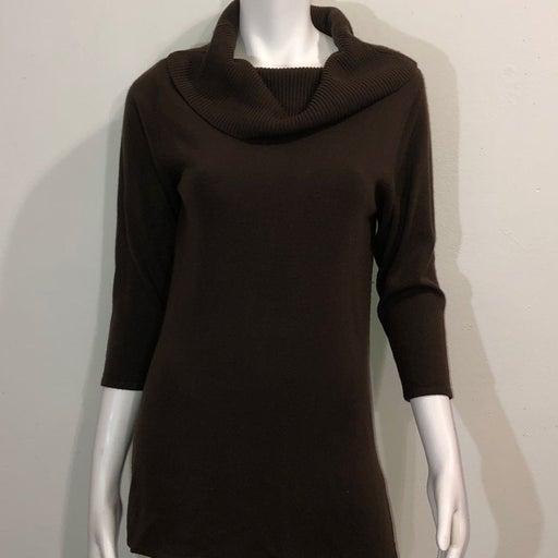 Crystal Kabe Medium Brown Sweaterdress