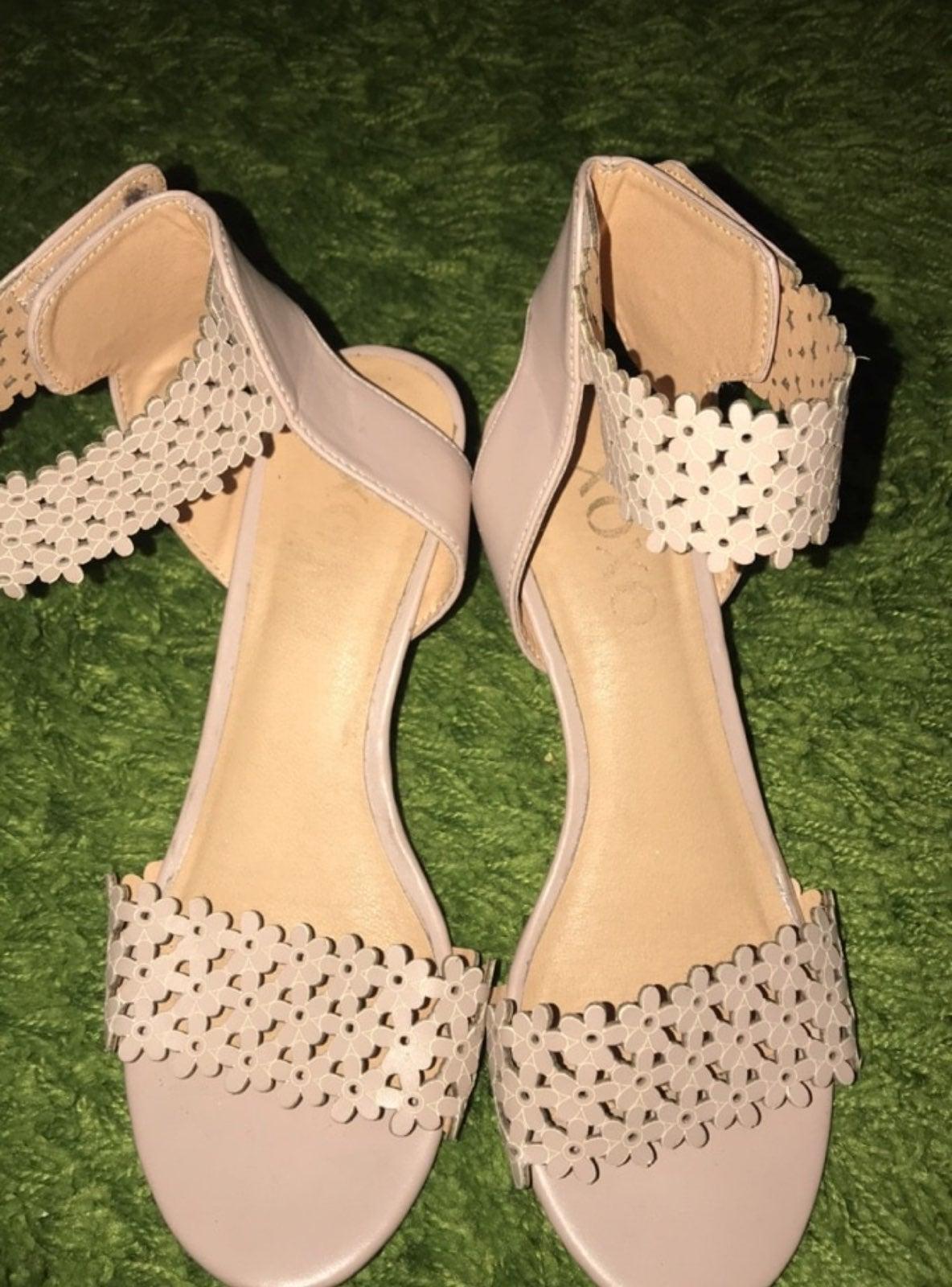 high heels flowers XOXO