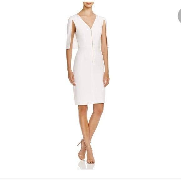 Black Halo Carissa Cape Dress Size 2
