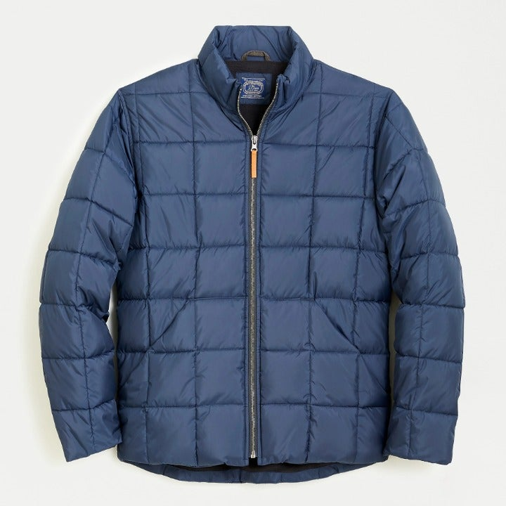 J.Crew Recycled Poly Box Quilted Jacket