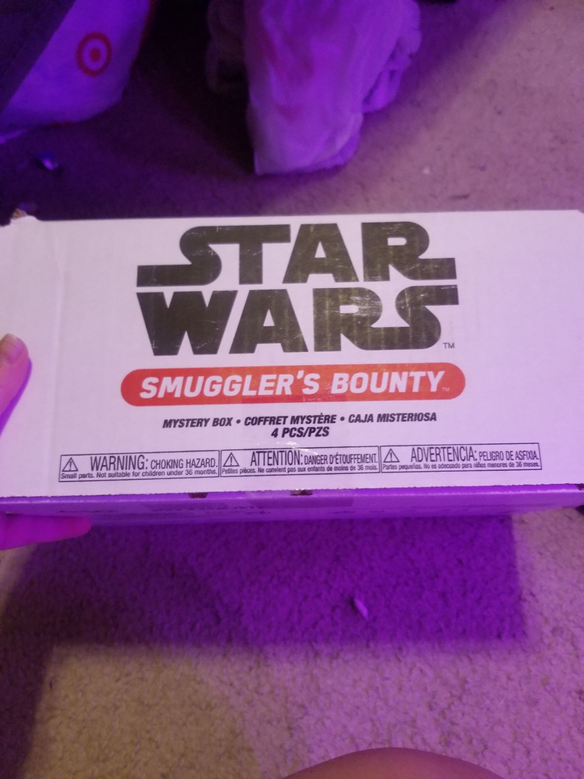Smugglers bounty box without the funko p