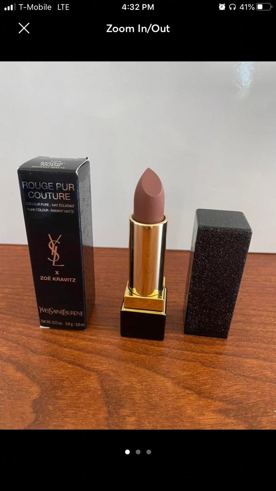 YSL x Zoë Kravitz Lipstick + free sample