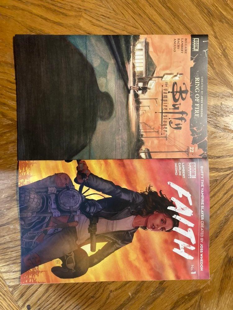Buffy & Faith comics