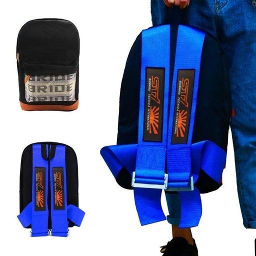 BRAND NEW SUBARU STI BLUE BACKPACK