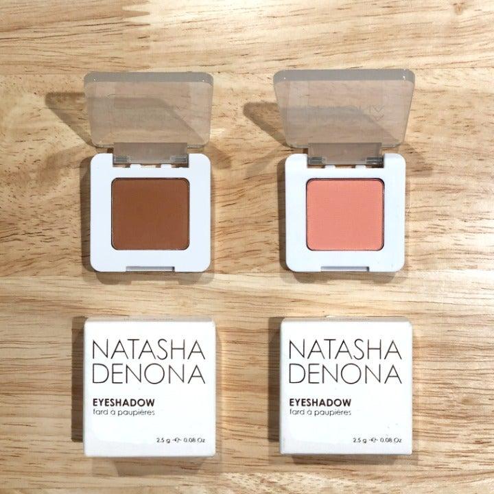 NATASHA DENONA NEW mono eyeshadow duo!!