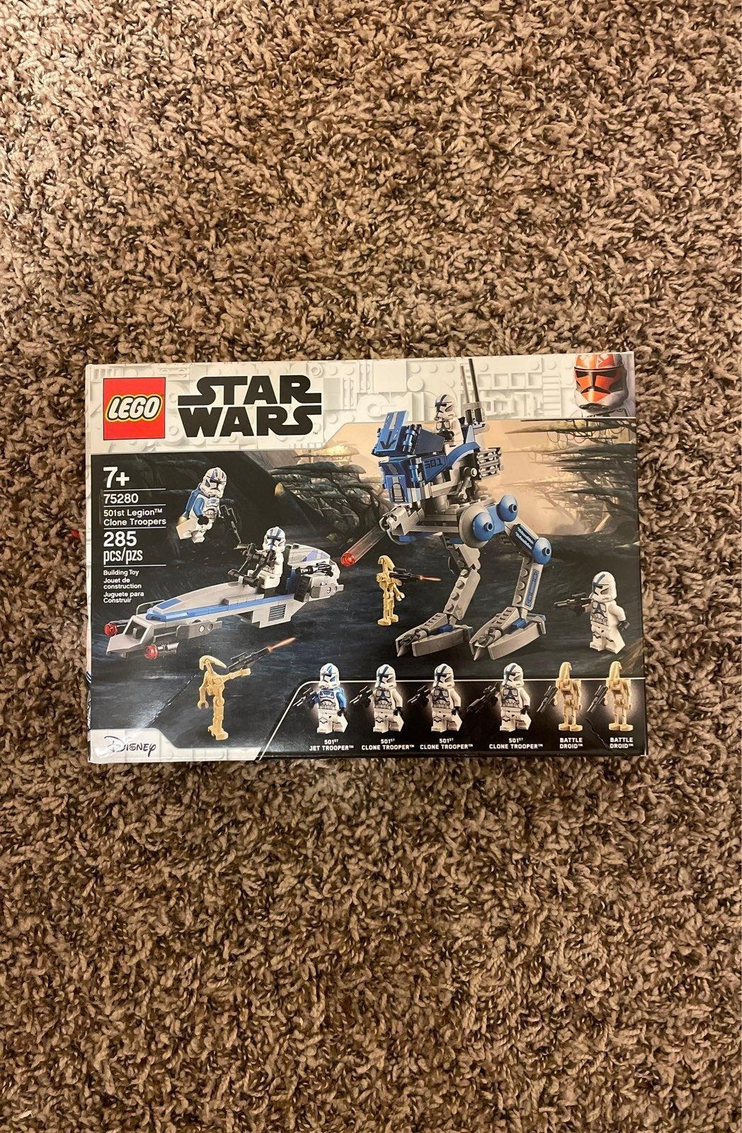 Lego Star Wars 501st Legion and Armored