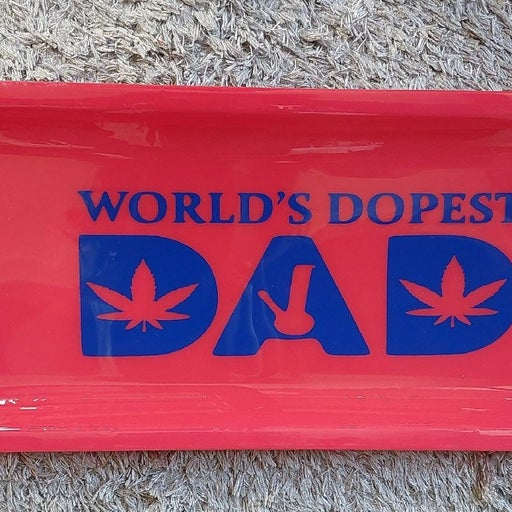 Dope dad Rolling tray