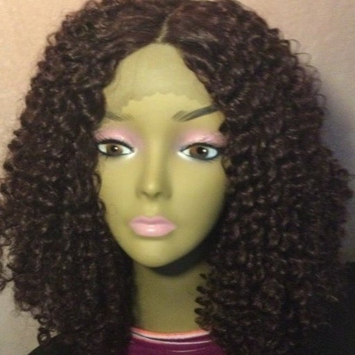 Glueless Lace front wig