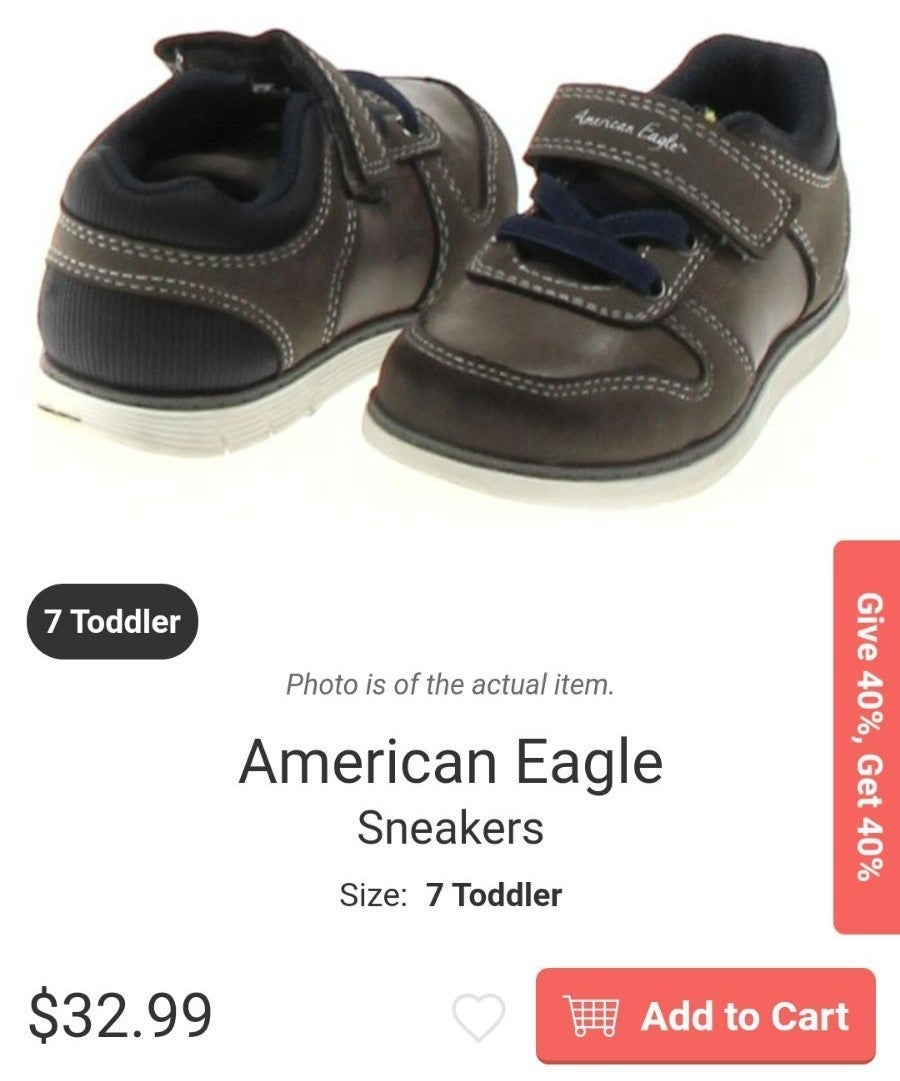 American Eagle shoes sneakers size 7