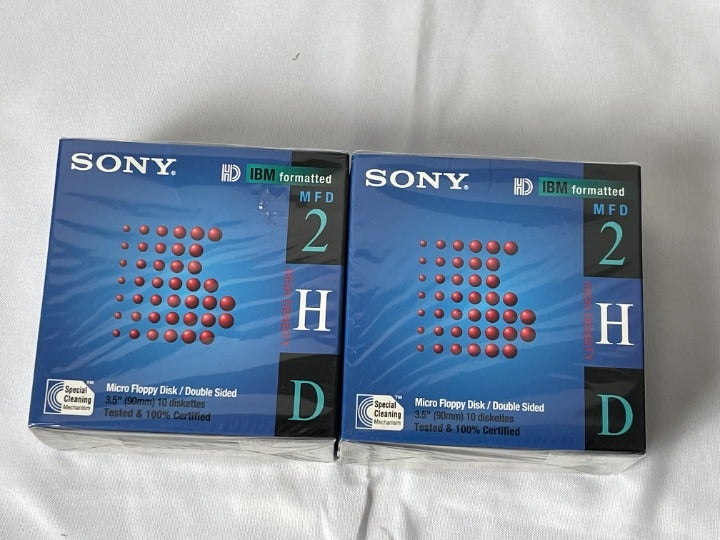 """Sony Micro Floppy Disk Double Sided 3.5"""""""