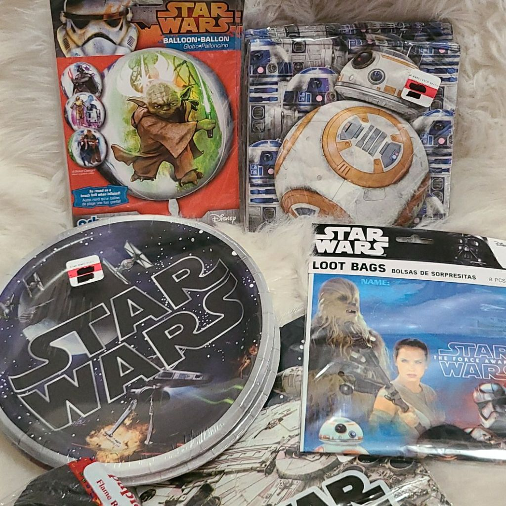New! Star Wars party decorations bundle