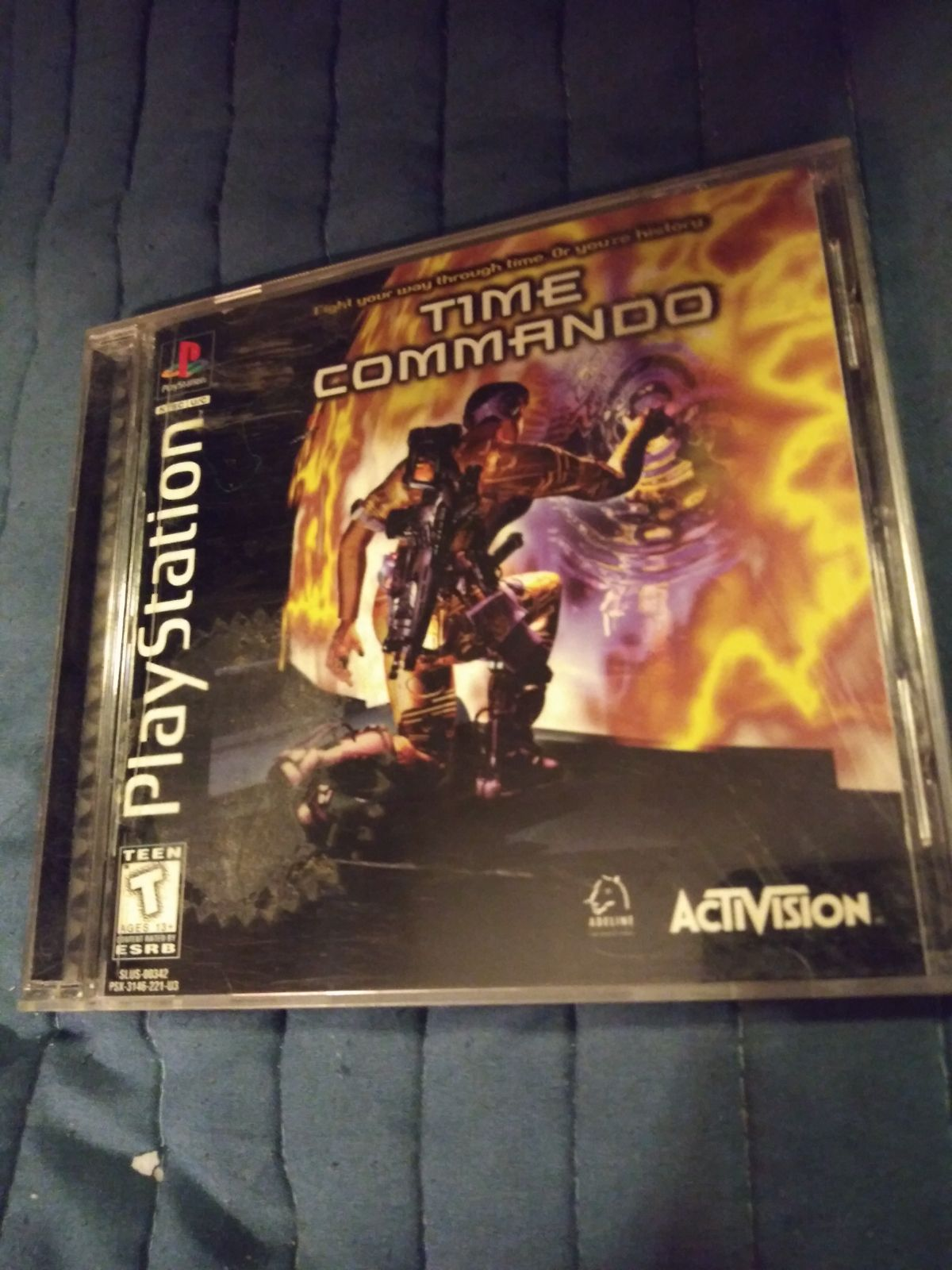 PLAYSTATION TIME COMMANDO
