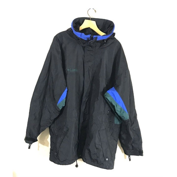 Columbia Mens Jacket Windbreaker Hood