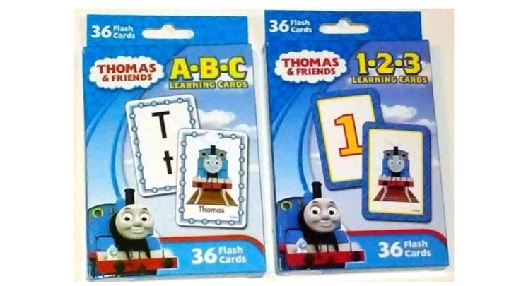 2 Thomas the Train & Friends Flash Cards