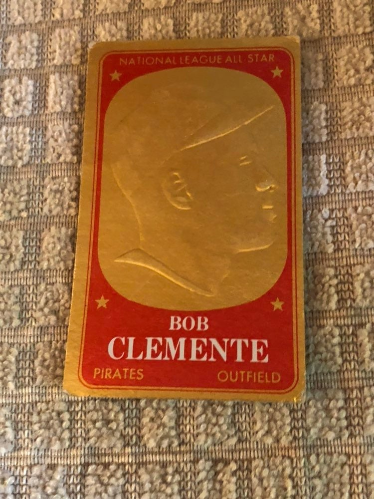 1965 Topps Embossed Roberto Clemente