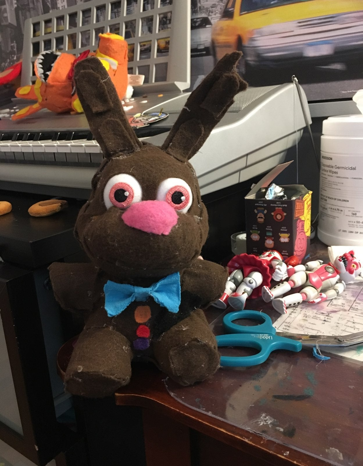 Custom FNAF AR Chocolate Bonnie Plush