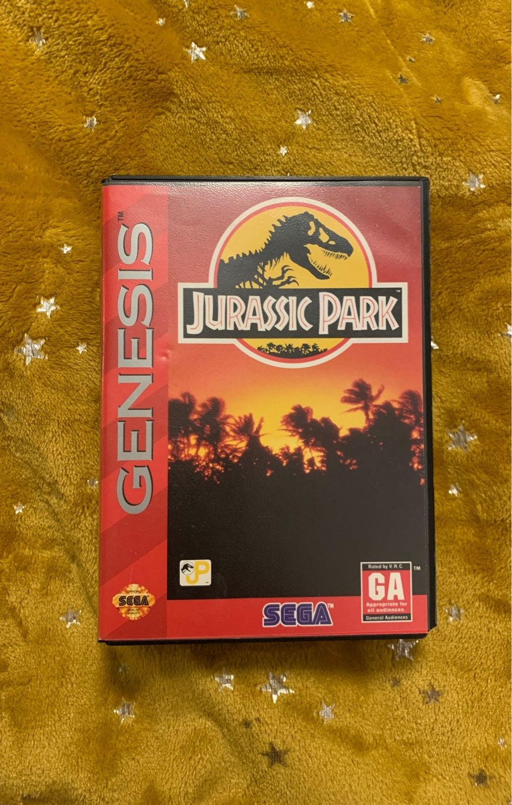 Sega genesis Jurassic Park