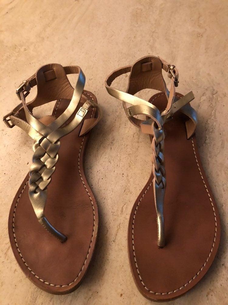 Belle leather sandels