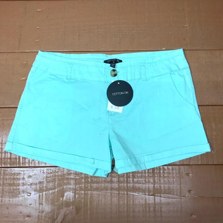 NWT Cotton On Mint Chino Shorts - 6