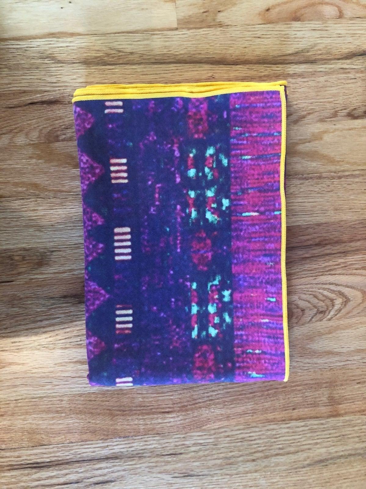 arete yoga mat towel