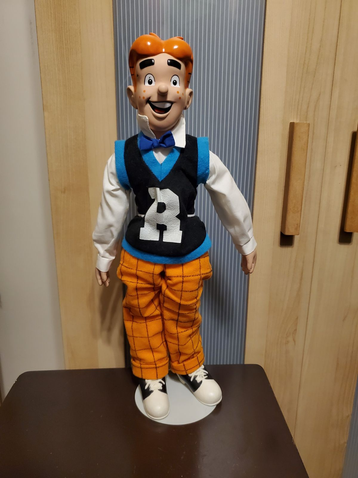Vintage 1987 Archie Doll Comics Figure w