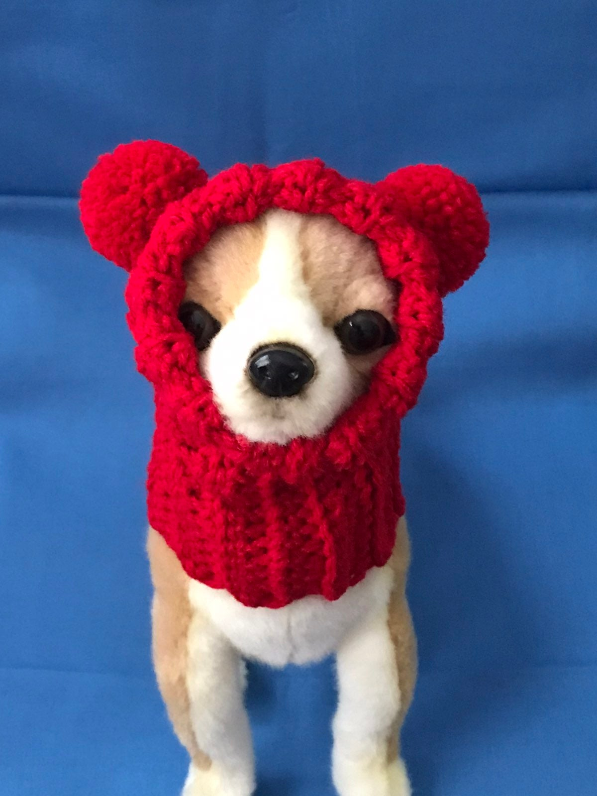 Chihuahua or small dog Pompom Hat XS/S