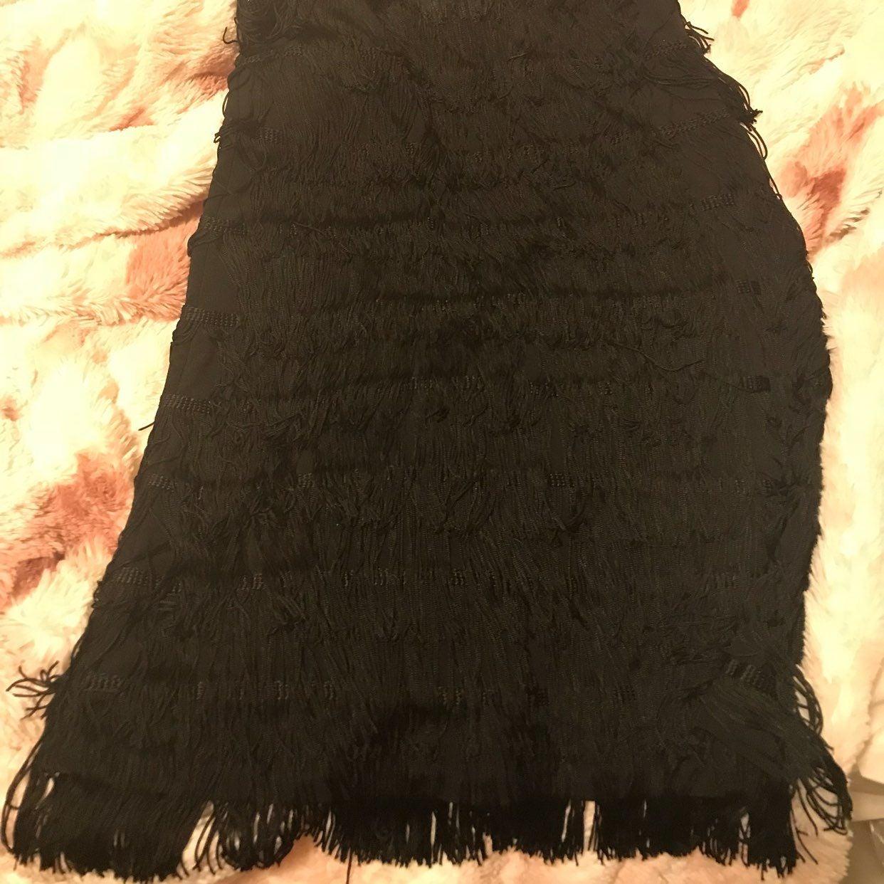 Express Flapper Strapless Dress