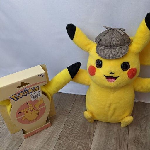 Pikachu talking plush and ears
