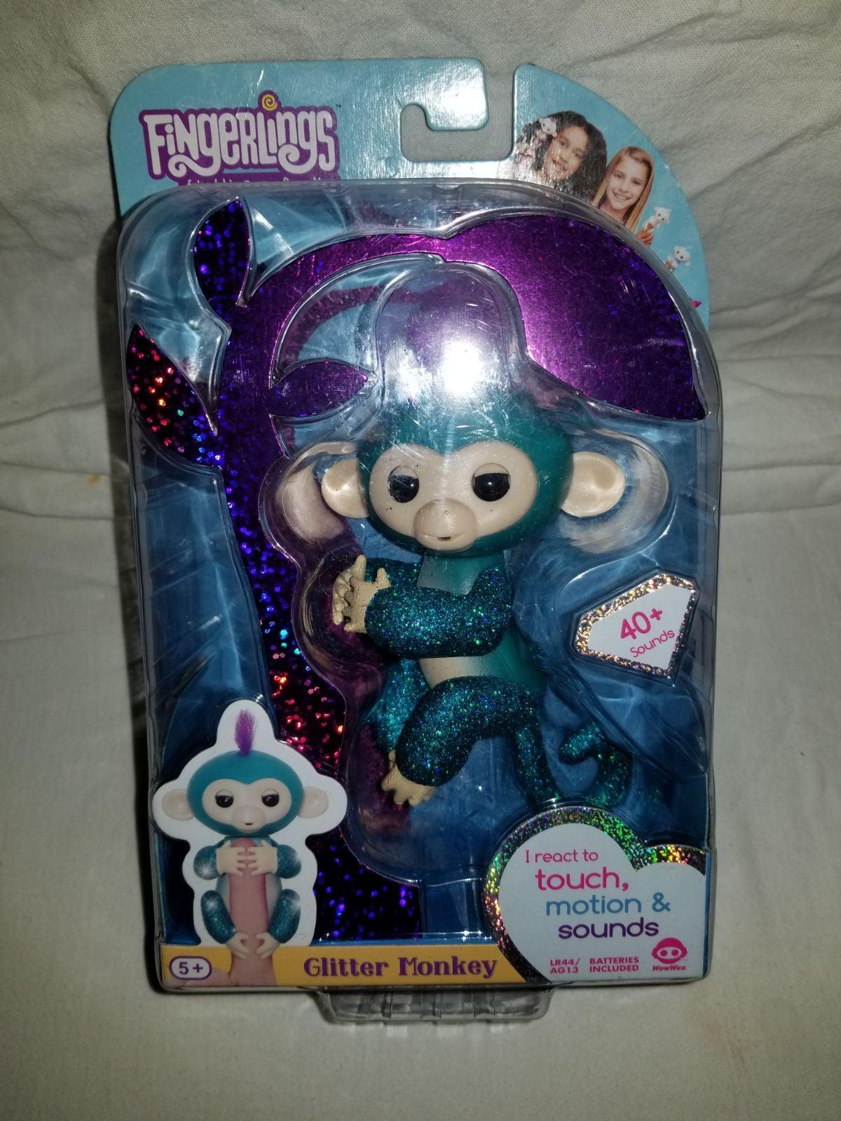 Fingerlings Glitter Monkey, Interactive