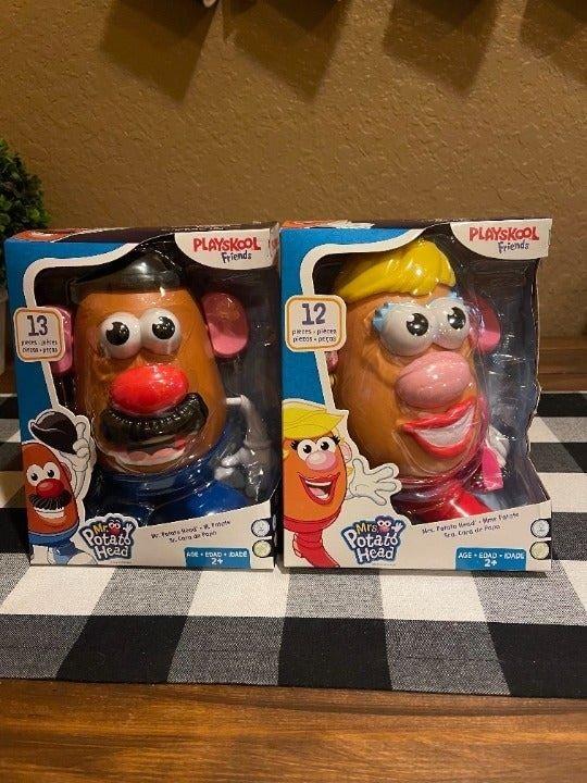 Mr. and Mrs. Potato Head 13 classic