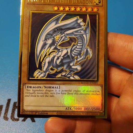 Yugioh Blue-Eyes White Dragon - MAGO-EN0