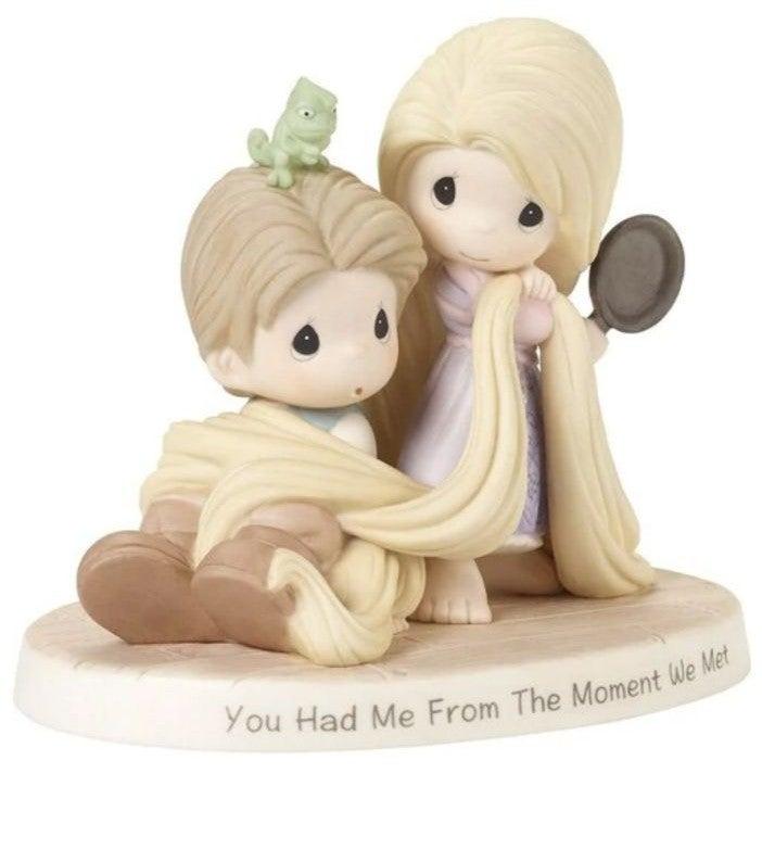 Disney Tangled Precious Moments Figurine