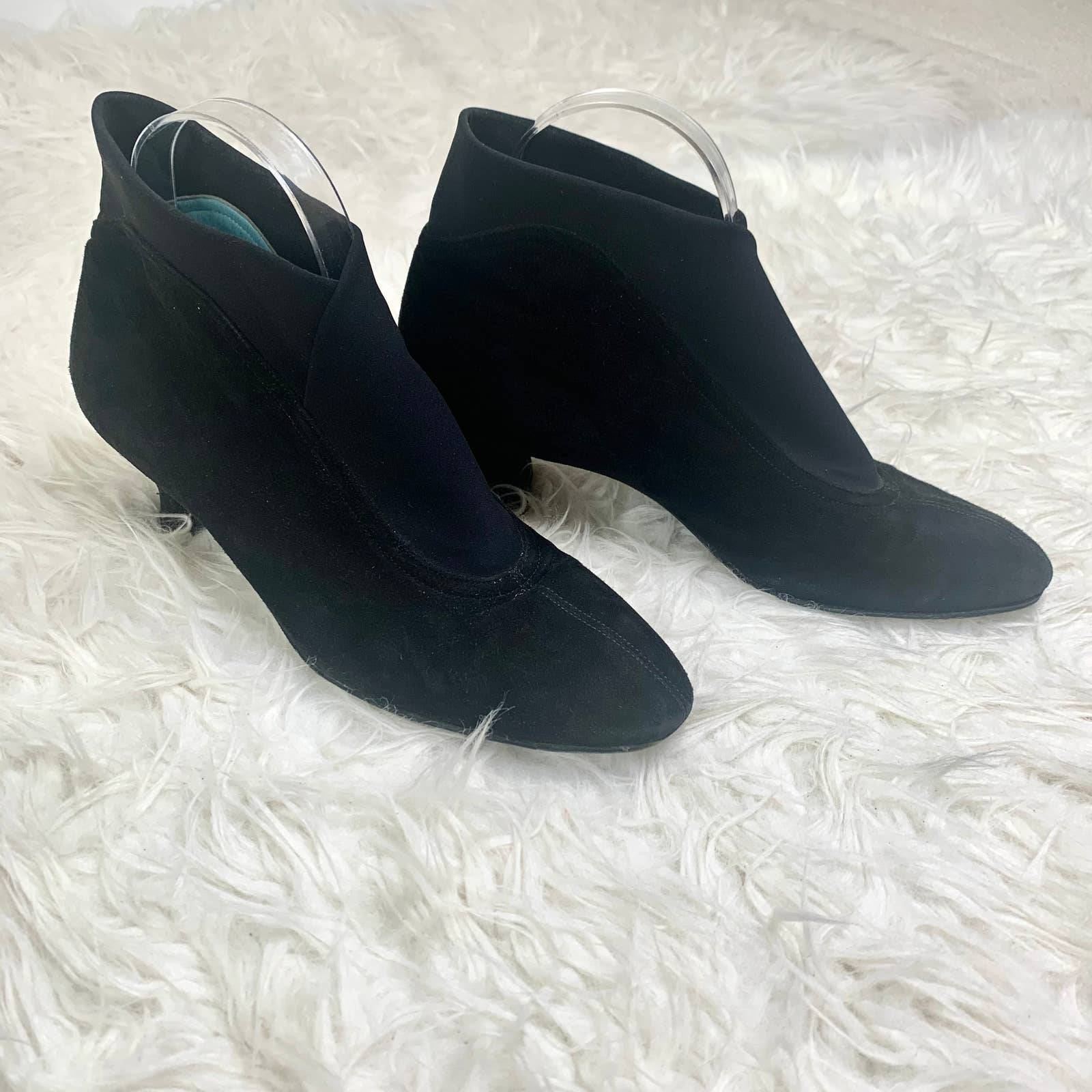 THIERRY RABOTIN Ankle Boot Black Leather
