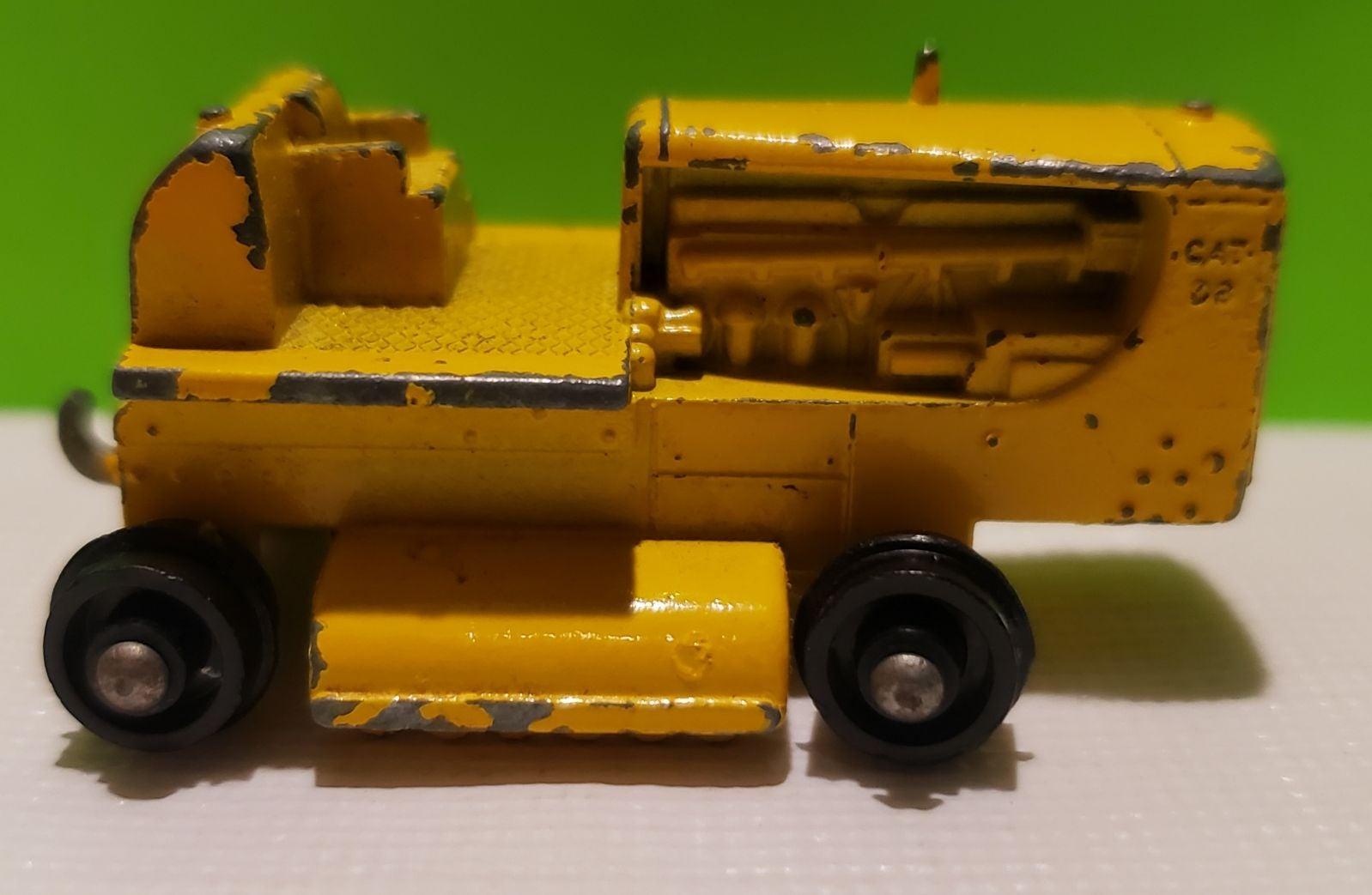 Matchbox Lesney 1964 Caterpillar Tractor
