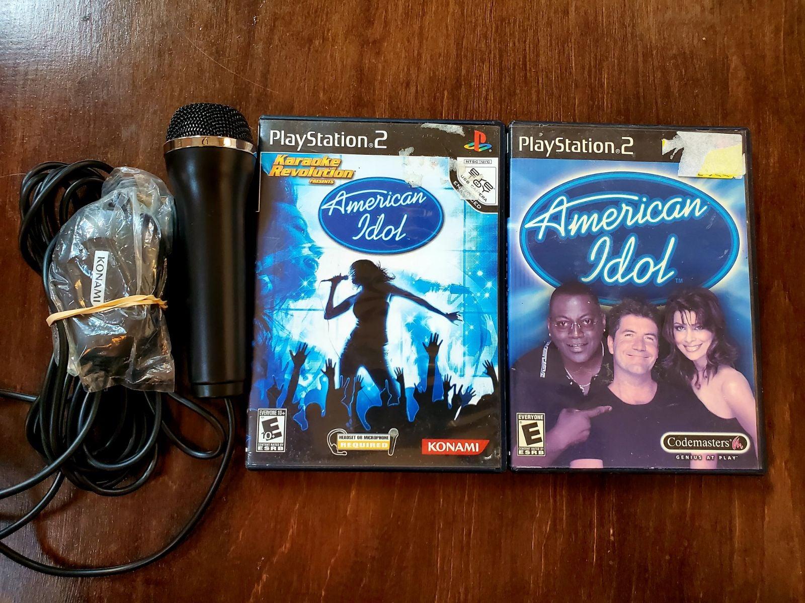 PlayStation 2 American Idol Bundle