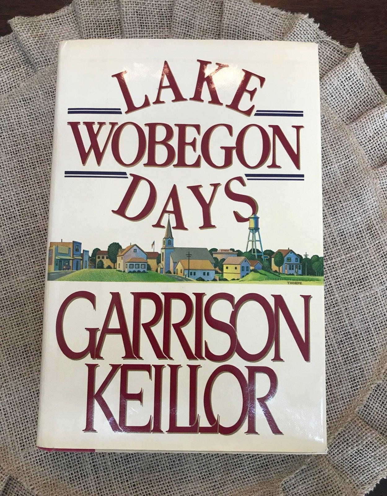 Lake Wobegon Days book Garrison Keillor