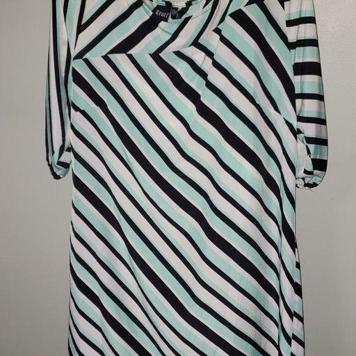 Cruel by Vanderbilts Striped Dress XL
