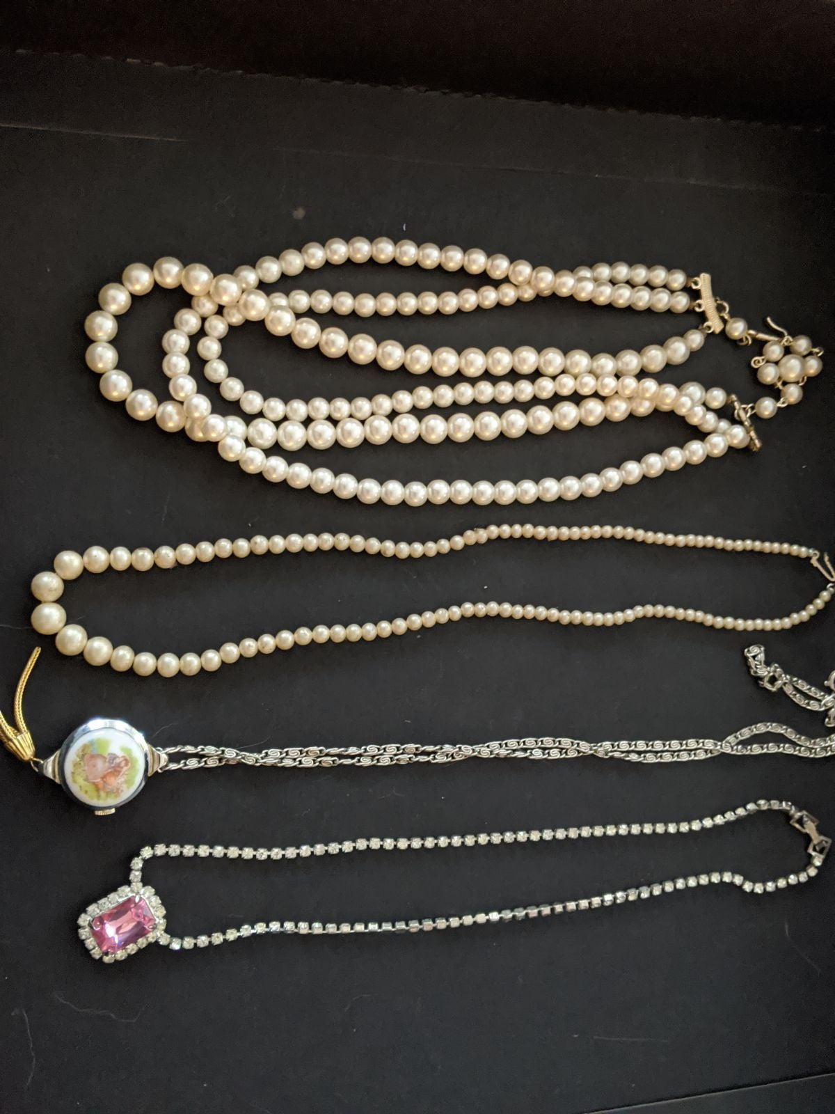 Vintage costume Necklaces