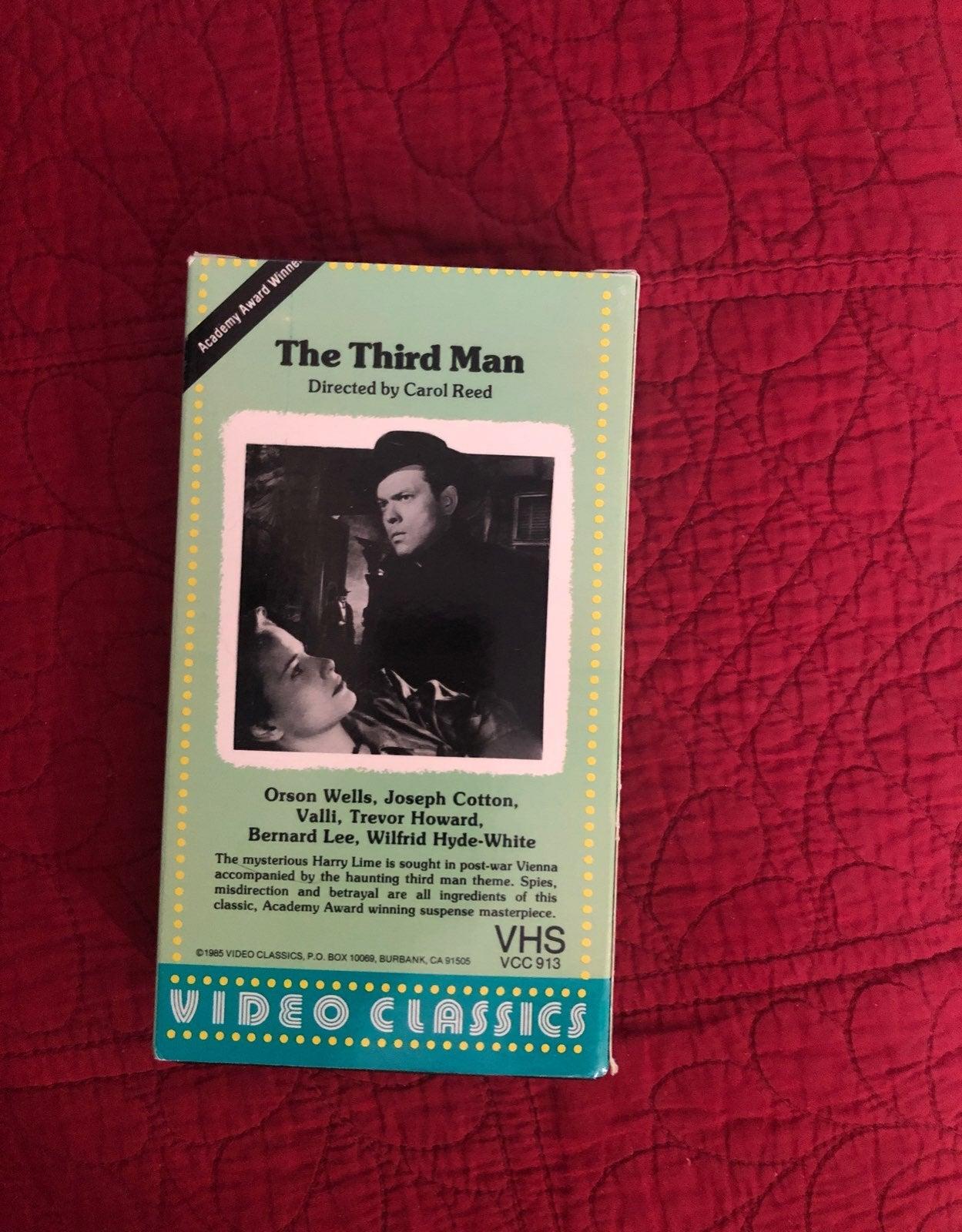 the third man vhs