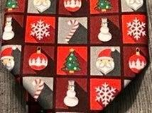 John Ashtotd Tie Icons of Christmas NWT